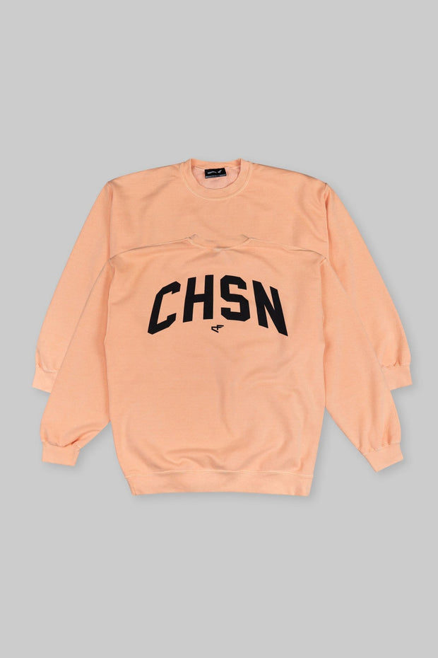 CHSN Oversized Crewneck Peach