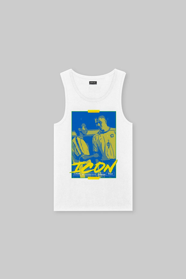 ICON - Double R Tank White