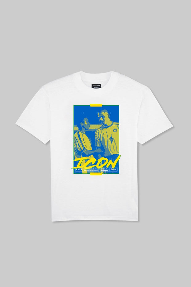 ICON - Double R Tee White