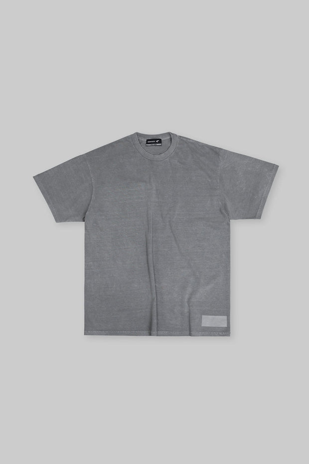 Retro Essential Tee Gunmetal Grey