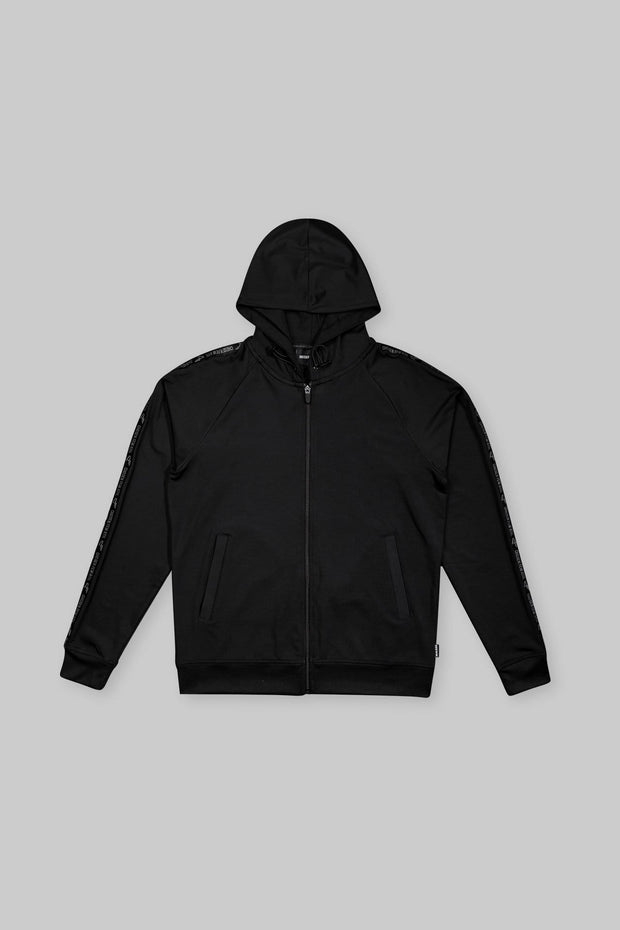 Performance Zip Hoodie Black