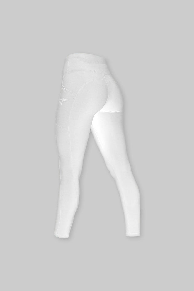 CORE HIGH WAISTED LEGGING WHITE