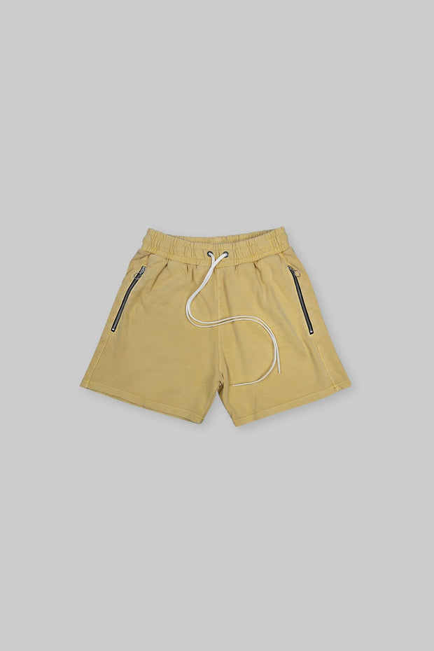 CORE SHORT WASHED LAKERS YELLOW