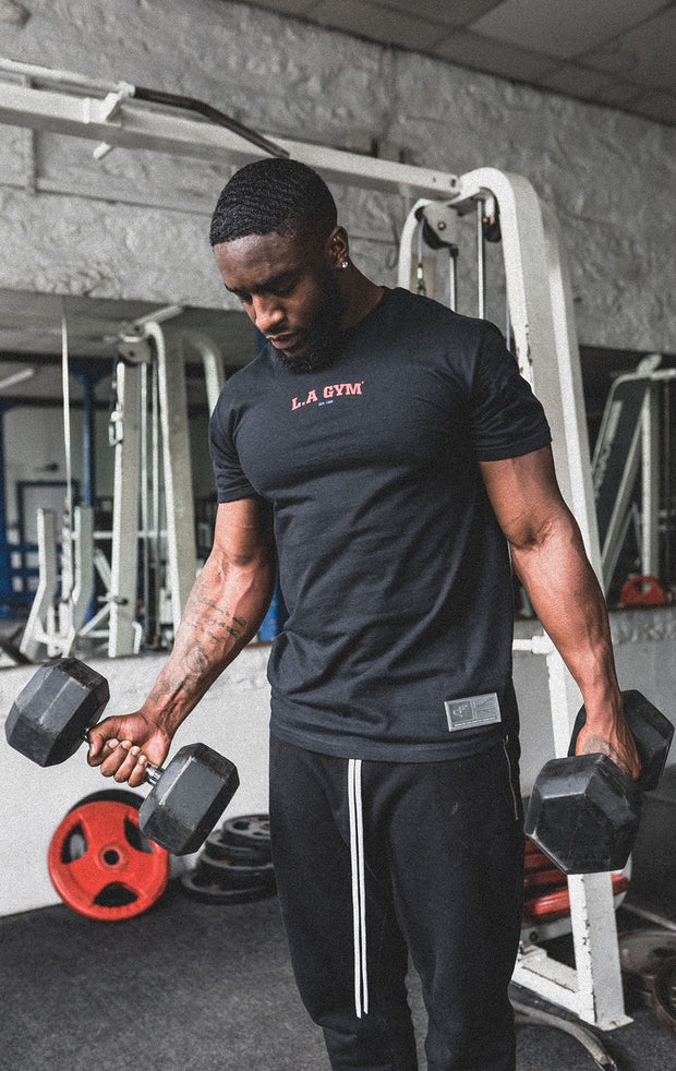 L.A Gym Official Tee Black