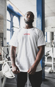 L.A Gym Official Tee White