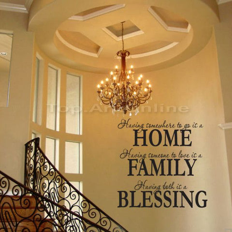 Blessing Removable Wall Sticker - Decor Home Ideas - 1