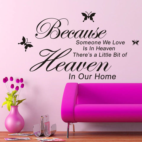 Someone We Love Removable Wall Sticker - Decor Home Ideas - 1