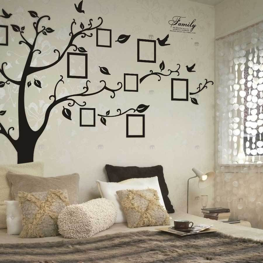 ... Black Tree Photo Frame Removable Wall Sticker   Decor Home Ideas   2 ...