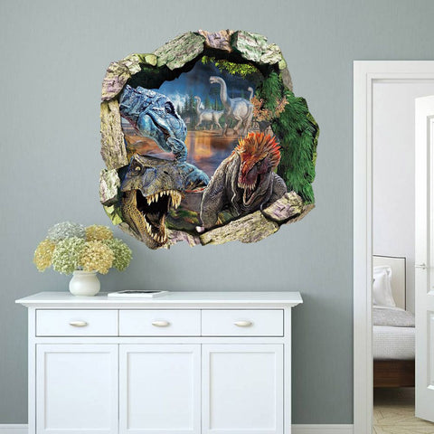 3D Dinosaurs Wall Sticker - Decor Home Ideas - 1