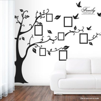 ... Black Tree Removable Wall Sticker   Decor Home Ideas   6 ... Part 33