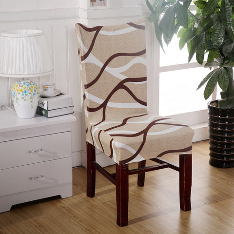 Dining Room Decoration Jacquard Chair Covers