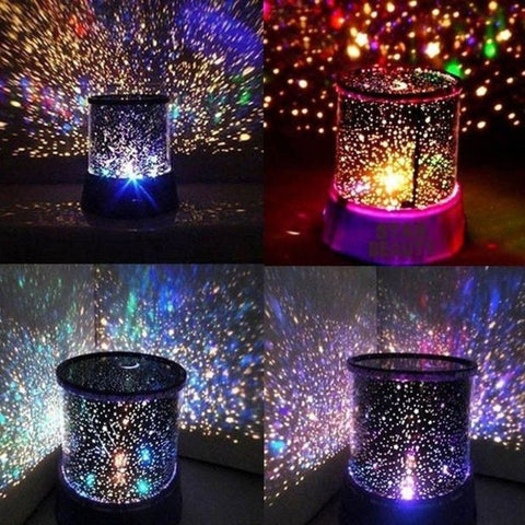 Beautiful LED Night Light Sky Master Star Lamp Projector Fantastic Kids Gift - Decor Home Ideas - 1