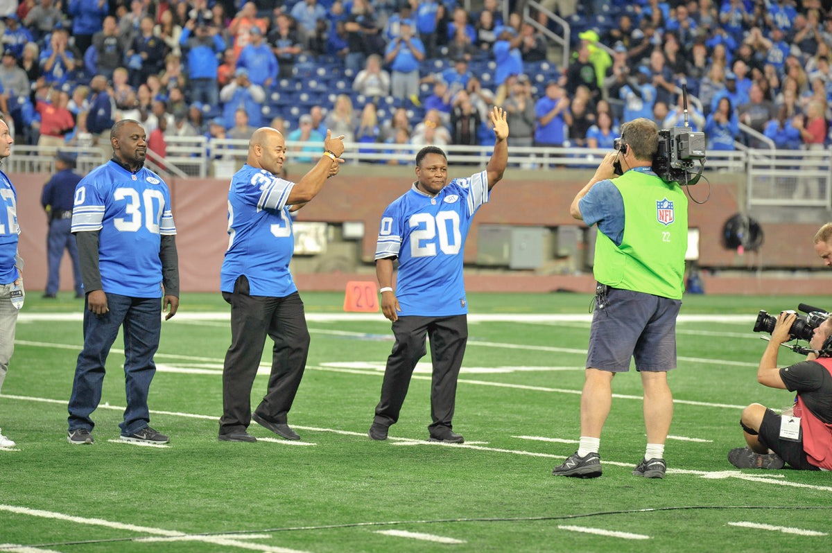 1991 Lions Honored at Halftime