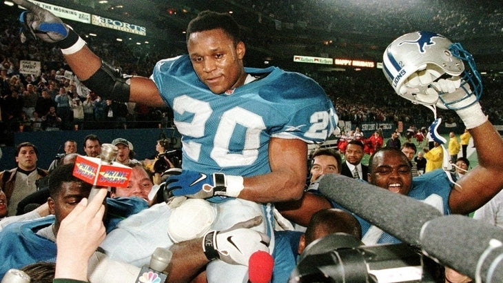 Barry Sanders' 2,000 yard game