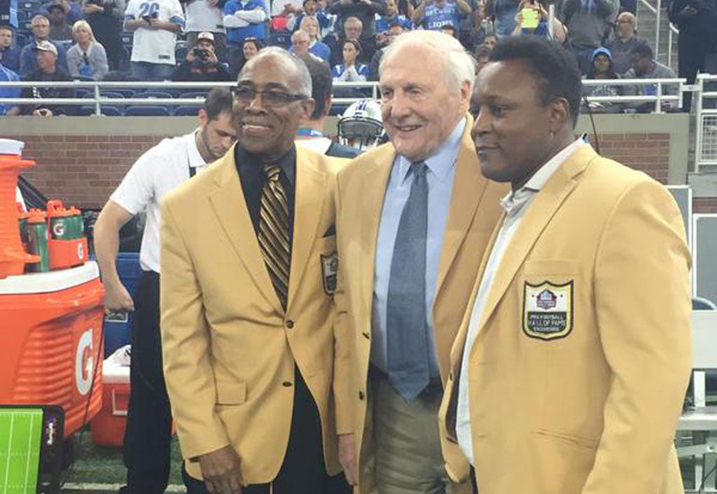 Hall of Fame Ring Ceremony at Ford Field