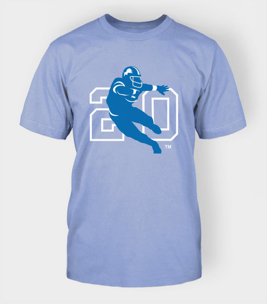 BS20 Logo Tee (M) - Blue