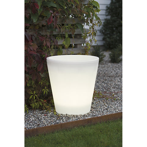 Assisi Bloempot Lamp - Large