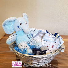 Load image into Gallery viewer, Baby Boy Basket