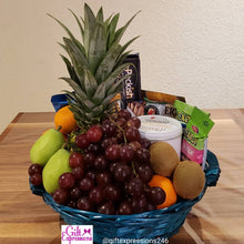 Load image into Gallery viewer, Fruit & Gourmet Snack Basket