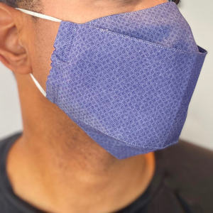 Unisex Face Mask - Blue Diamond