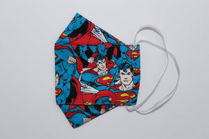 Unisex Face Mask - Retro Superman