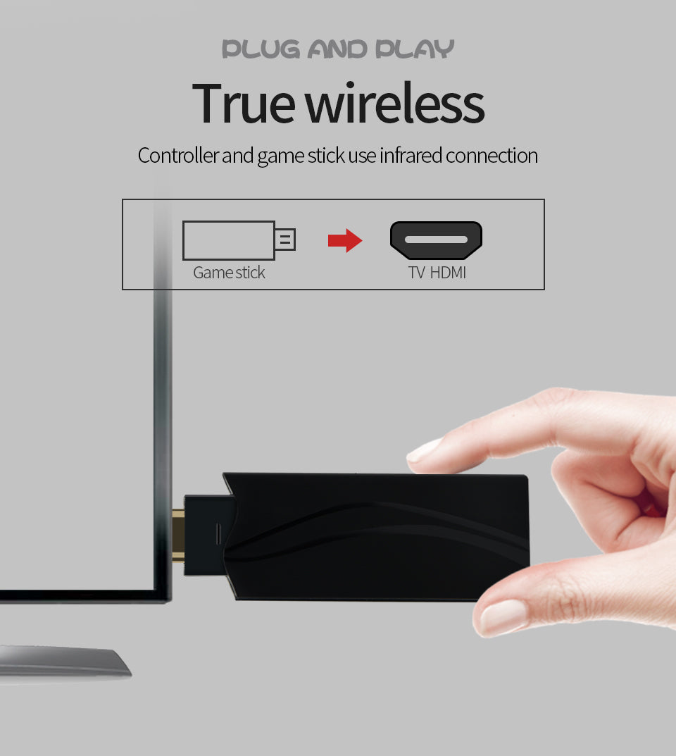 2020 Old Gaming Wireless HDMI Stick - iTech level