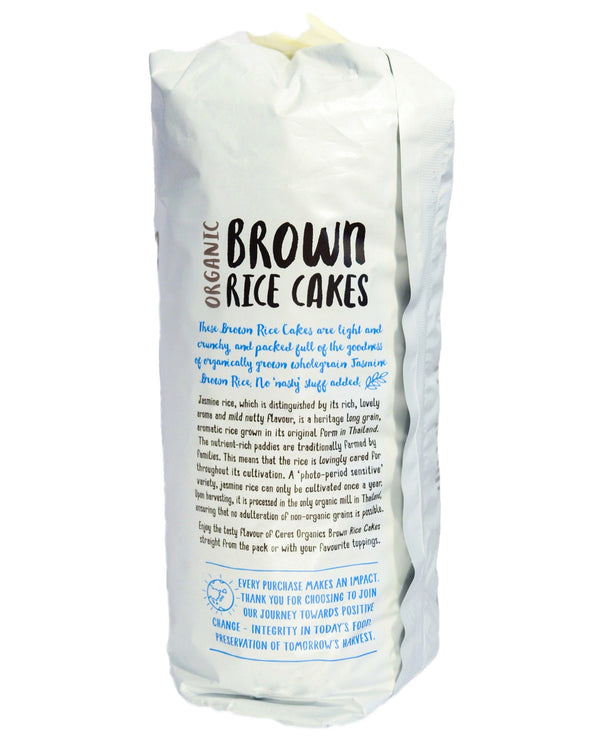 Ceres Organics Brown Rice Cakes - Original (110g) - Organic Store NZ