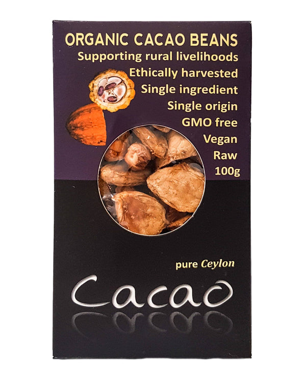 D - Kokonati Organic Dried Fruits - Cacao (100g) - Organic Store NZ
