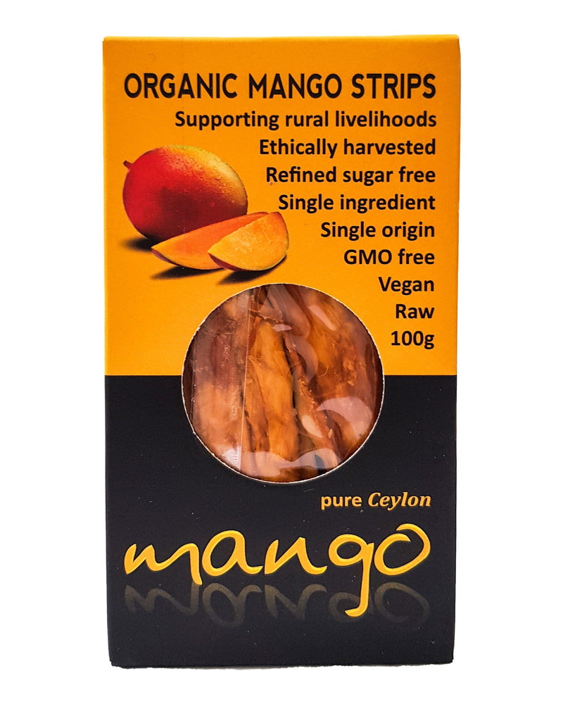 D - Kokonati Organic Dried Fruits - Mango (100g) - Organic Store NZ