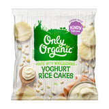 D - Only Organic Kindy 1-5 years Yoghurt Rice Cakes (30g) - Organic Store NZ