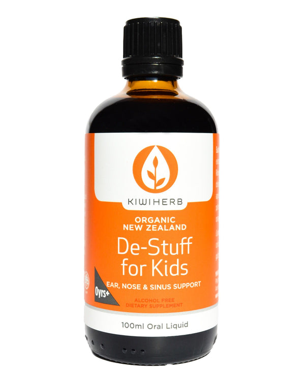 Kiwiherb De-Stuff for Kids (100ml) - Organic Store NZ