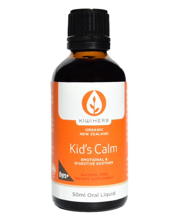 Kiwiherb Kid's Calm (50ml) - Organic Store NZ