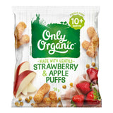 Only Organic 10+ months Strawberry & Apple Puffs (20g) - Organic Store NZ