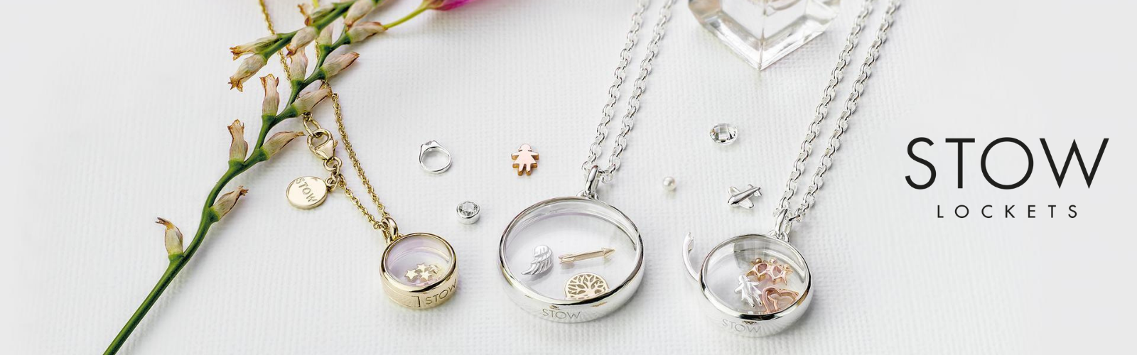 Stow Lockets and Charms