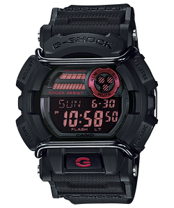 Black and Red G-Shock GD400-1D