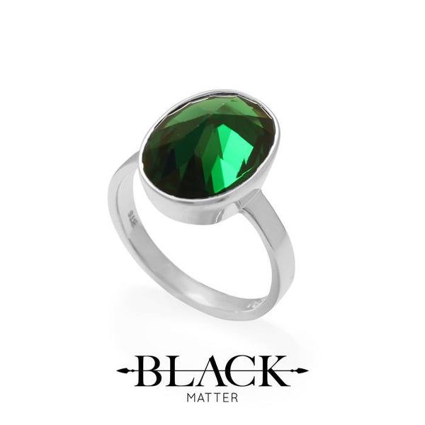 After Midnight Green Ring