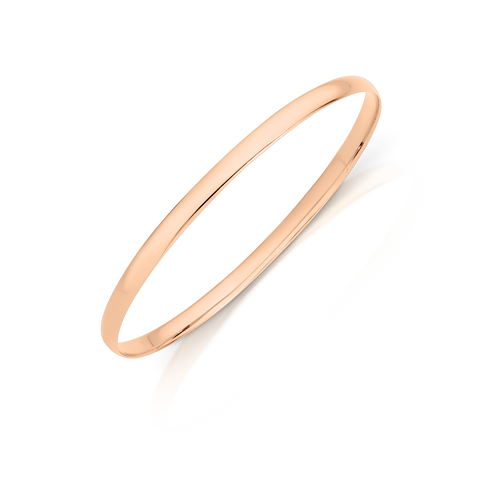 Rose Gold Bangle at Wrights Jewellers