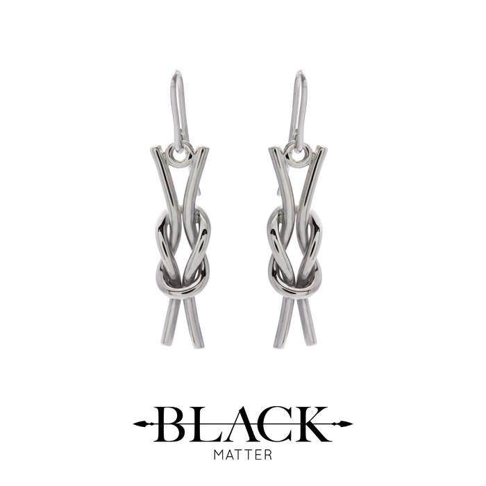 NAUTICAL Reef Knot Earrings