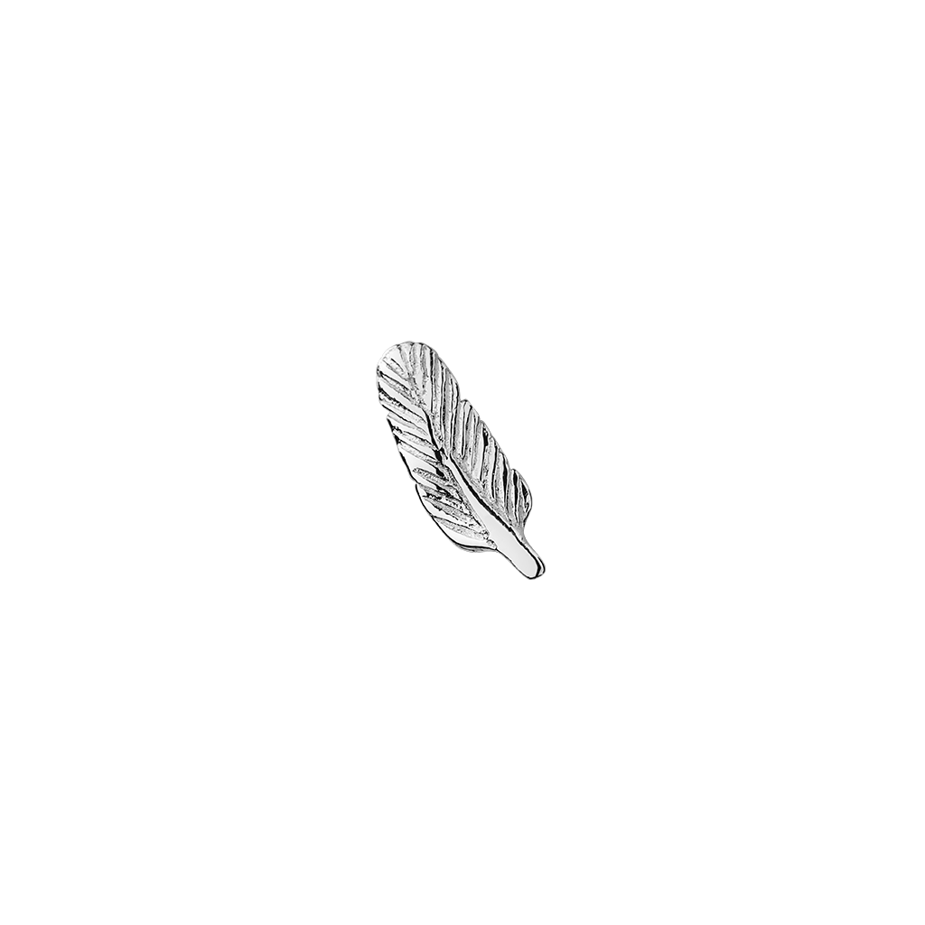 STOW Feather Charm