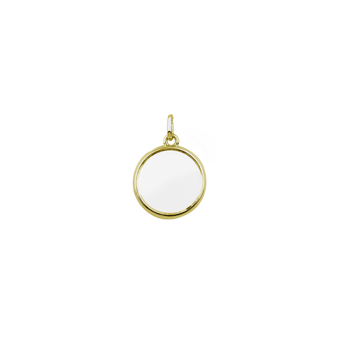 Medium Gold Stow Locket