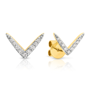 JOURNEY Diamond Stud Earrings