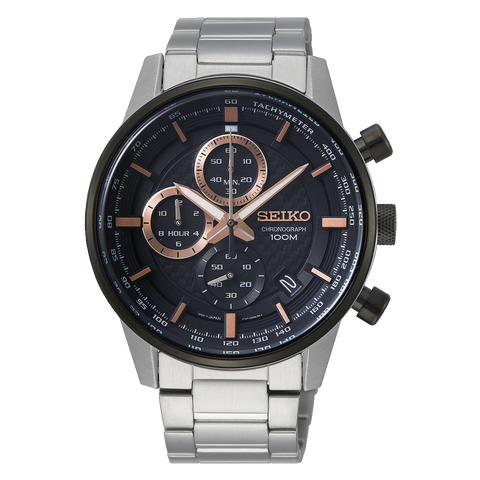 Seiko Chronograph Watch SSB331P1