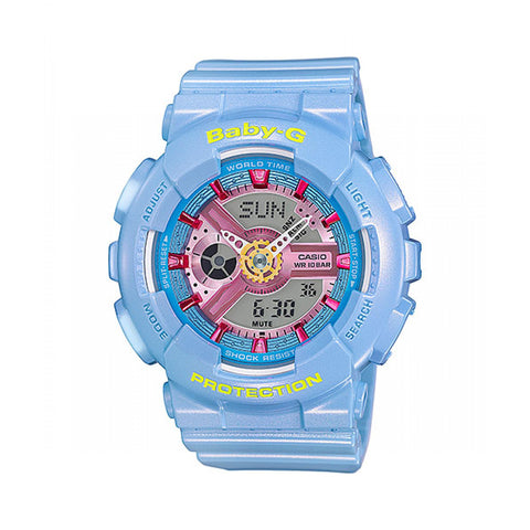 Blue Baby G Watch BA-110CA-2ADR
