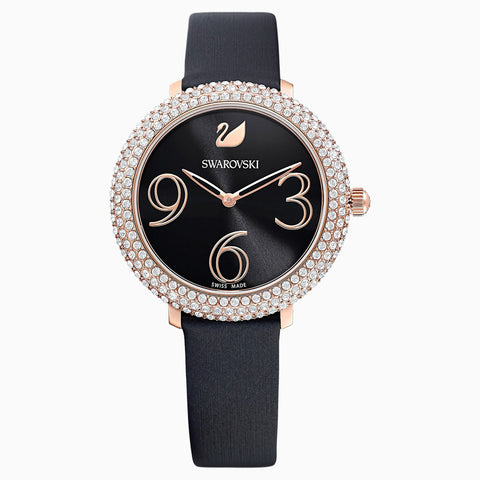 Swarovski Crystal Frost Watch in Rose Gold