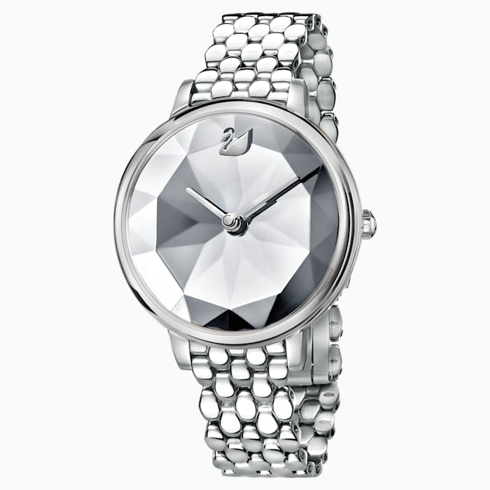 Swarovski Crystal Lake watch in stainless steel