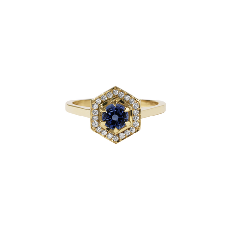 MEADOWLARK Hex Engagement Ring
