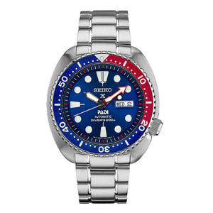 Seiko Dive Watch with Pepsi Dial and PADI logo