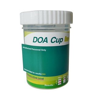 10-panel DOA Drug Test Cup Kit | 03-4660 - ToxTests
