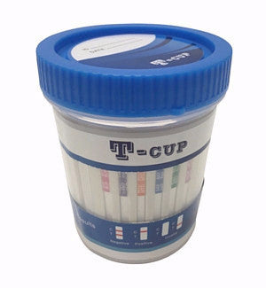 10 panel Urine Drug Test Kits | T-Cup TDOA-3104 (25/box) - ToxTests