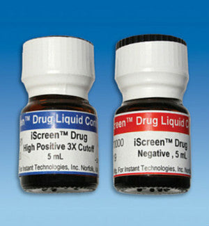 Alere iScreen Drug Control Kit (Positive & Negative – 5ml) | 88004 - ToxTests